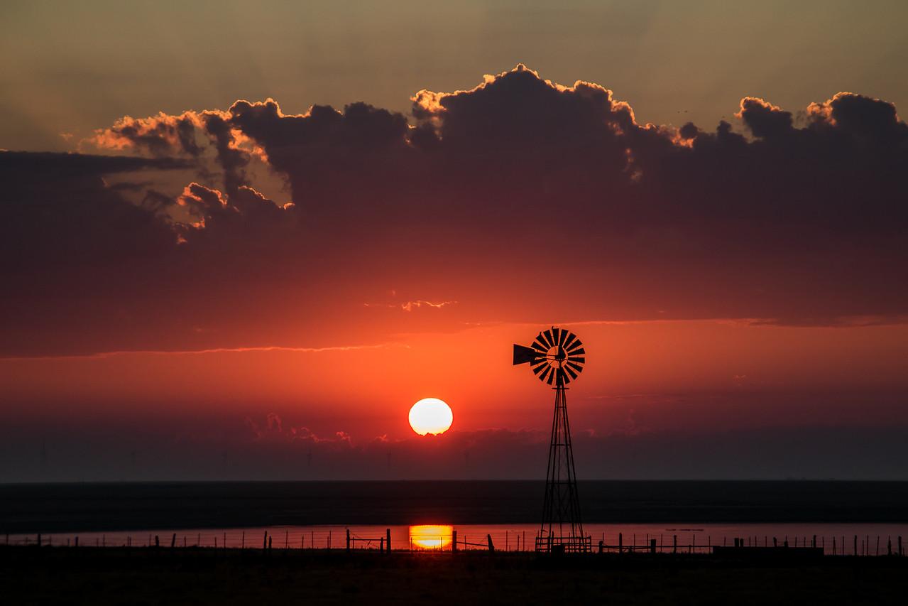 Sunrise near Washburn