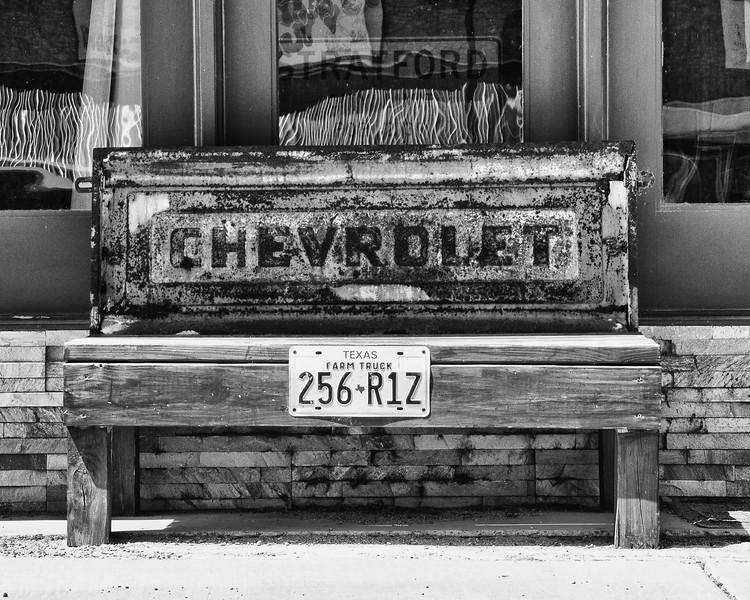 Bench, Stratford Texas