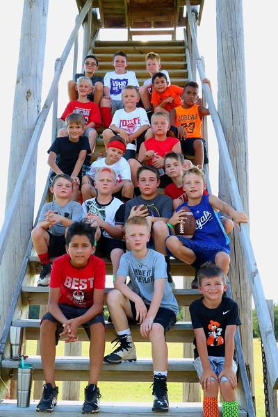 Crusader Developmental Football Camp 072417