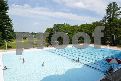071017  Wesley Bunnell | Staff  Bristol residents take advantage of Page Park Pool to cool down on a warm Monday afternoon.