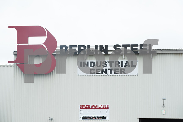 071417 Wesley Bunnell   Staff Berlin Steel's Industrial Center directly next to the Berlin Train Station.