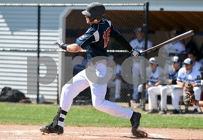 071917  Wesley Bunnell | Staff  Southington American Legion Post 72 vs Avon Post 201 on Wednesday afternoon in Avon. The first game was forfeited by Avon after it was ruled they used an ineligible player forcing a second final deciding game. Braydon Cooney (15).