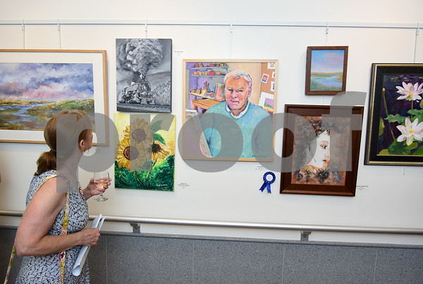 072017 Wesley Bunnell | Staff The Hospital for Special Care held their 14th Annual Juried Art Show on Thursday evening with an exhibition running until September 28th.