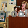 072017  Wesley Bunnell | Staff<br /> <br /> The Hospital for Special Care held their 14th Annual Juried Art Show on Thursday evening with an exhibition running until September 28th. President and CEO of The Hospital for Special Care Lynn Ricci.