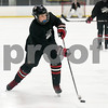 072717  Wesley Bunnell   Staff<br /> <br /> The Newington Tribe vs the New Haven Warriors in a Nutmeg Games hockey game on Thursday evening in Newington. Owen Johnson (4) scores a goal to put Newington up 2-0 in the second period.