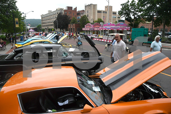 6/17/2017 Mike Orazzi   Staff The 8th Annual Bill Englert Memorial Auto Show held on North Main Street in Bristol Saturday.