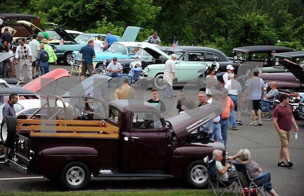 6/17/2017 Mike Orazzi   Staff The Klingberg Vintage Motorcar Festival in New Britain Saturday morning.