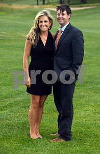 7/8/2017 Mike Orazzi | Staff Aimee and Cory Edgar during the 100th Anniversary Gala for the Shuttle Meadow Country Club held Saturday evening at the club.