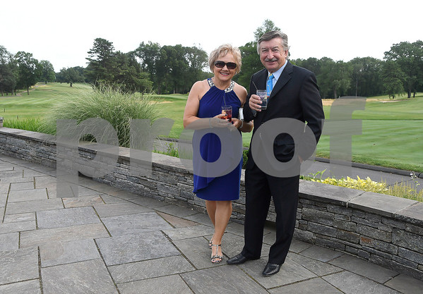 7/8/2017 Mike Orazzi | Staff Mary and George Iskra during the 100th Anniversary Gala for the Shuttle Meadow Country Club held Saturday evening at the club.