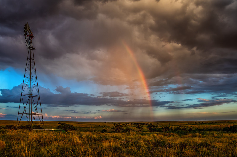 Rainbow, Buffalo Lake