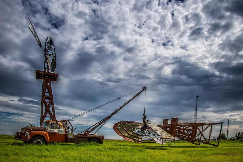 Setting Up Windmills Near Spearman