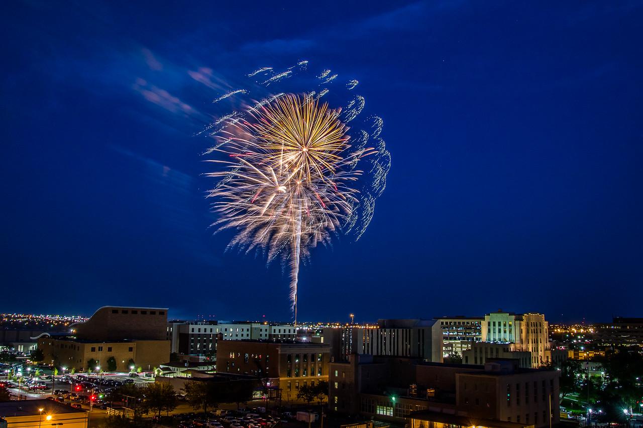 Amarillo Fireworks