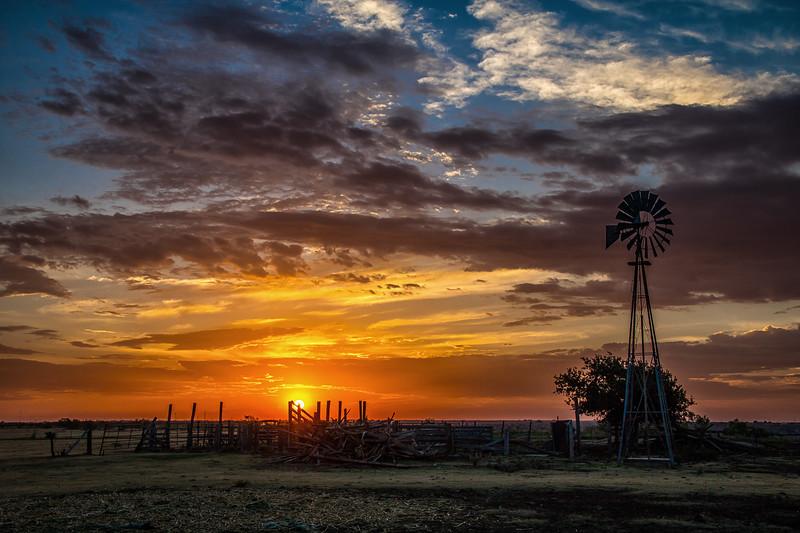 Randall County Sunrise