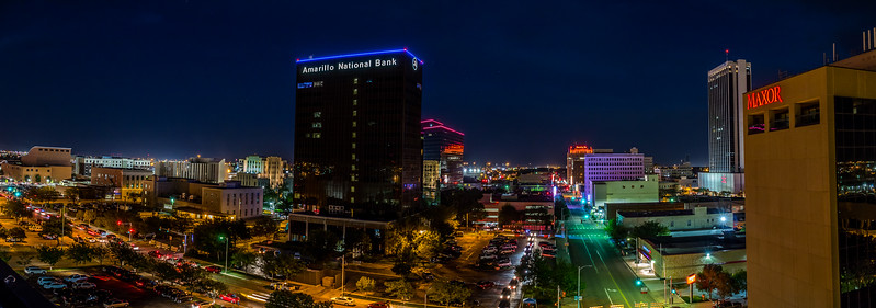 Amarillo at Night
