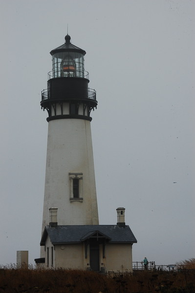 Day 6, we visited this BLM-run lighthouse near Newport, Oregon - the 93' Yaquina Head Lighthouse.  It's Oregon's tallest lighthouse and one of the tallest anywhere that you can still climb.