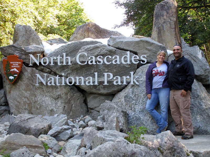 Day 3 saw us going through the North Cascades National Park, which straddles the border of Washington and Canada.