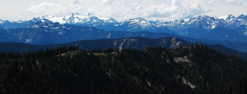 Mt Olympus and associated peaks.