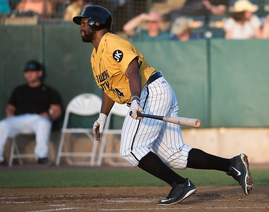 06/29/18  Wesley Bunnell | Staff  The New Britain Bees were defeated 6-4 by the Southern Maryland Blue Crabs. Jason Rogers (14).