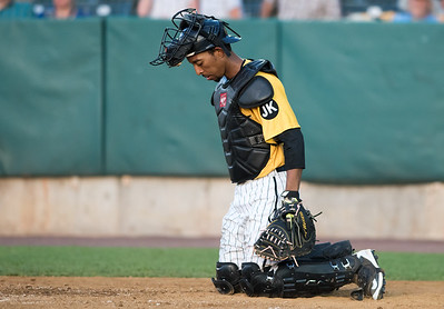 06/29/18  Wesley Bunnell | Staff  The New Britain Bees were defeated 6-4 by the Southern Maryland Blue Crabs. James Skelton (3).
