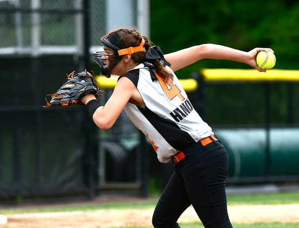 7/26/2018 Mike Orazzi | Staff PA's Kaya Hannon (4) during a win over Rhode Island in the Little League Eastern Regional Softball Tournament at Breen Field in Bristol Thursday.