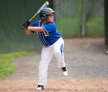 07/30/18  Wesley Bunnell | Staff  The Southington Travel Knights 12U baseball was defeated 10-0 by the Catalyst Bombers at A.W. Stanley Park on Monday evening in Nutmeg Games action. Derek Chuilli (3).