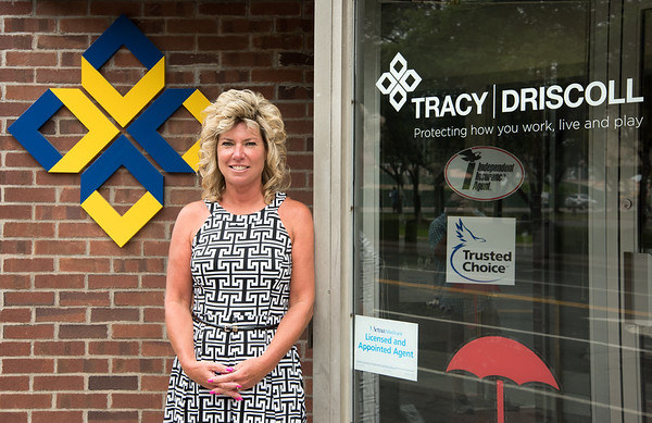 07/30/18 Wesley Bunnell | Staff Theresa Reynolds of Tracy-Driscoll Insurance.
