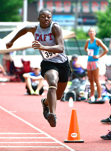 7/14/2018 Mike Orazzi   Staff Kayla Robinson during the Nutmeg State Games held at Veterans Memorial Stadium in New Britain Saturday.