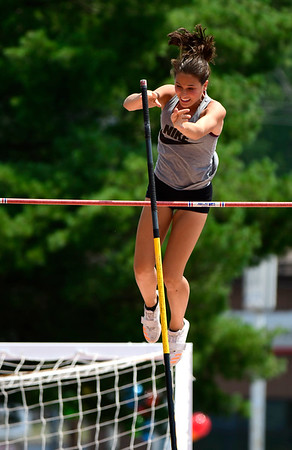 7/14/2018 Mike Orazzi | Staff Madison Martin during the Nutmeg State Games held at Veterans Memorial Stadium in New Britain Saturday.