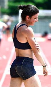 7/14/2018 Mike Orazzi   Staff Ruslana Tsykhotska during the Nutmeg State Games held at Veterans Memorial Stadium in New Britain Saturday.