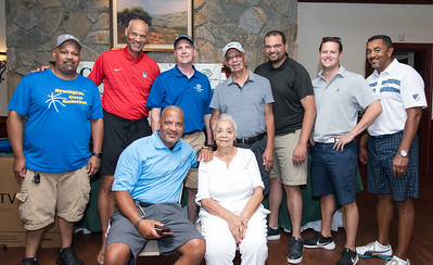 07/20/18  Wesley Bunnell   Staff  The 14th Annual Chuck Roby Golf Tournament sponsored by Farmington Bank was held on Friday at Stanley Golf Course in New Britain. The tournament benefits the Boys and Girls Club of New Britain. Chuck Roby's grandson Christopher Roby, L standing, son Peter Roby, Executive Director of the Boys and Girls Club Todd Czuprinski, son Chuck Roby Jr, grandson Peter Roby, Bryant Schlictin, nephew Ed Fernandes, grandson Kevin Roby, seated L, and widow Helen Roby.
