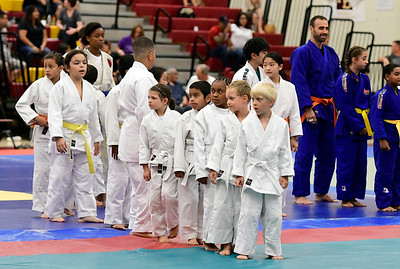 7/21/2018 Mike Orazzi | Staff Participants during the Nutmeg Games Judo held at New Britain High School Saturday morning.