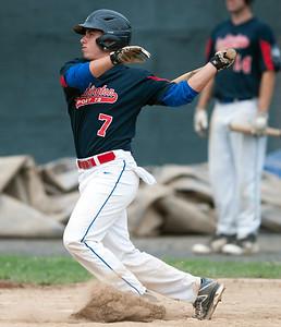 07/25/18  Wesley Bunnell   Staff  Southington Post 72 vs Trumbull in American Legion Baseball on Wednesday afternoon.  Josh Panarella (7).
