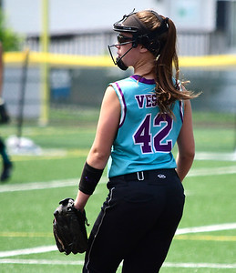 7/28/2018 Mike Orazzi | Staff CT Mirage's Becca Vesco (42) at Chesley Park in New Britain Saturday afternoon.