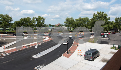 07/31/18  Wesley Bunnell | Staff  Cars and pedestrians passing through the Columbus Boulevard traffic circle on Tuesday afternoon,