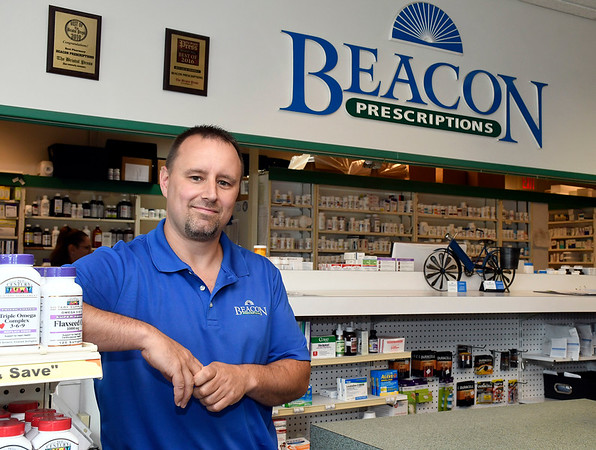 7/6/2018 Mike Orazzi | Staff Corey at Beacon Prescriptions in Bristol.