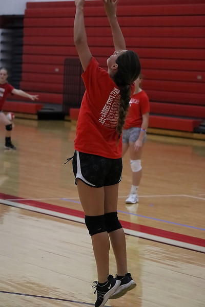 WHS / WMS Volleyball Camp 071018