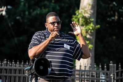 Harold Rice, the new Executive Diretor of the Ada Jenkins Center. (Bill Giduz photo)
