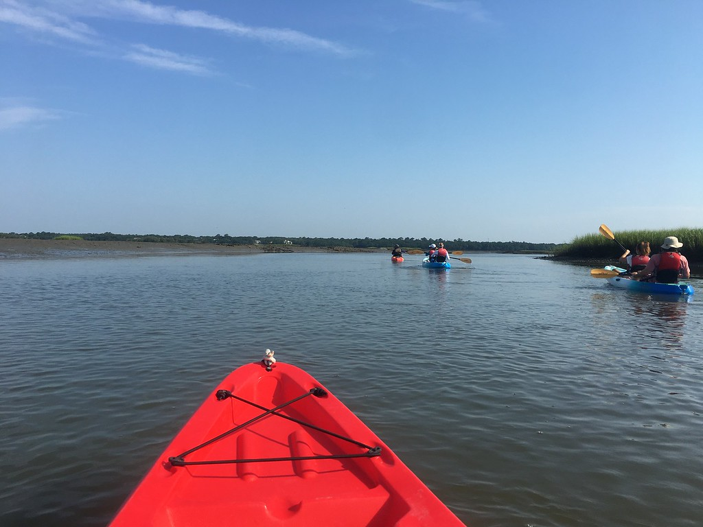 Kayaking at Kiawah Island