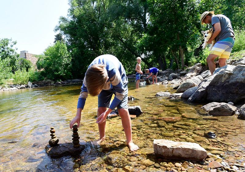 Boulder Hot Weather Art