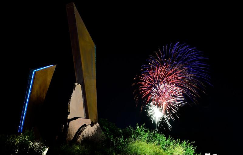 Fireworks in Longmont