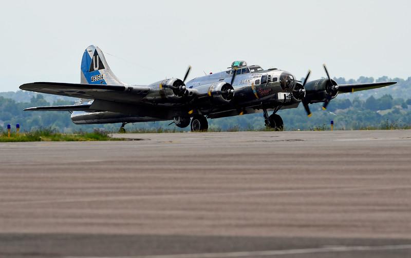 The Airbase Arizona Flying Museum Sentimental Journey B-17G
