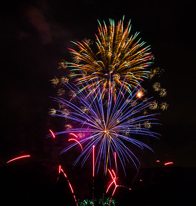 July 4, 2014 North Salt Lake Fireworks