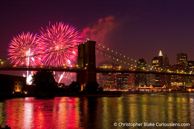 New York City Fireworks 3