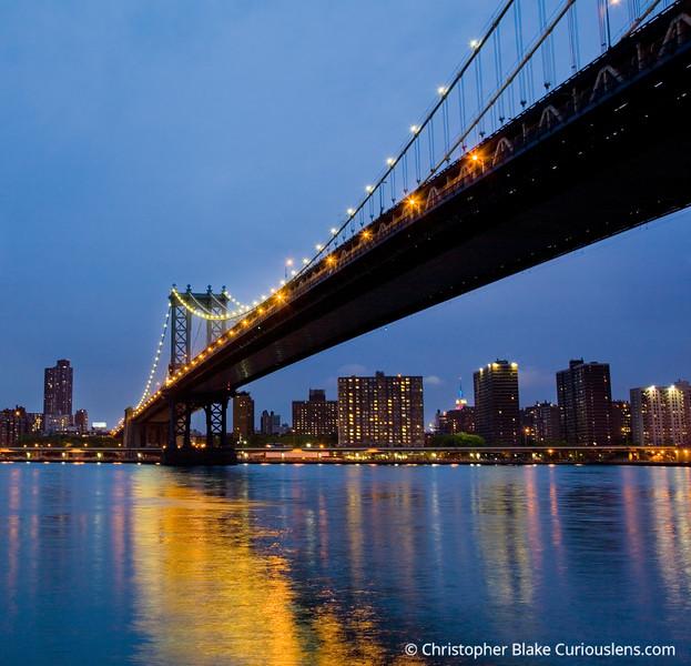 Bridge and Reflection NYC