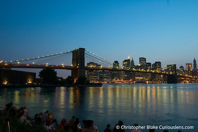 Crowd Waiting for the Fireworks NYC 4th of July