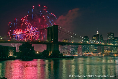 New York City Fireworks 1