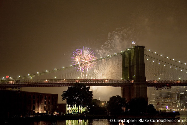 New York City Fireworks 12