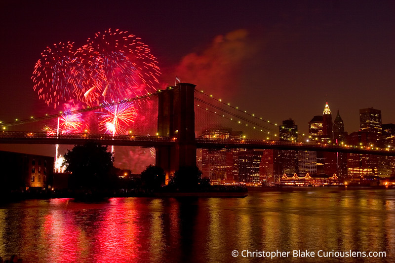 New York City Fireworks 5