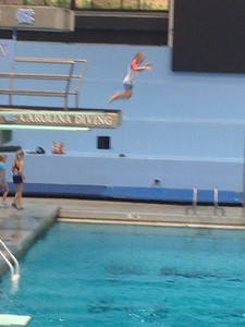 A chance to dive at the UNC pool!