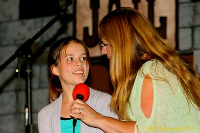 Rai Smith & grand daughter - Vilna Cowboy Fest 2014